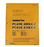 Komatsu pc400–7、pc400lc-7、pc450–7、pc450lc-7Excavatorワークショップ修理サービスマニュアル–部品番号# sebd033003