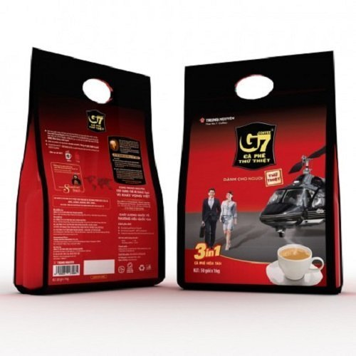 NGUYEN チュングエン G7インスタントコーヒー〈Coffeemix3in1〉16g*50袋入り ベトナムコーヒー [並行輸入品]