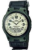 [カシオ] 腕時計 カシオ コレクション AW-80V-3BJH メンズ ブラック