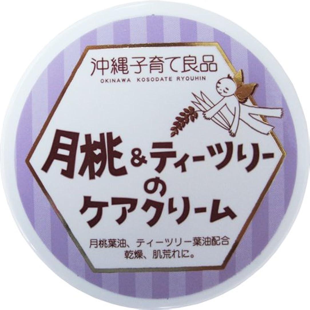 火曜日カレンダー植物の沖縄子育て良品 月桃&ティツリーのケアクリーム (25g)