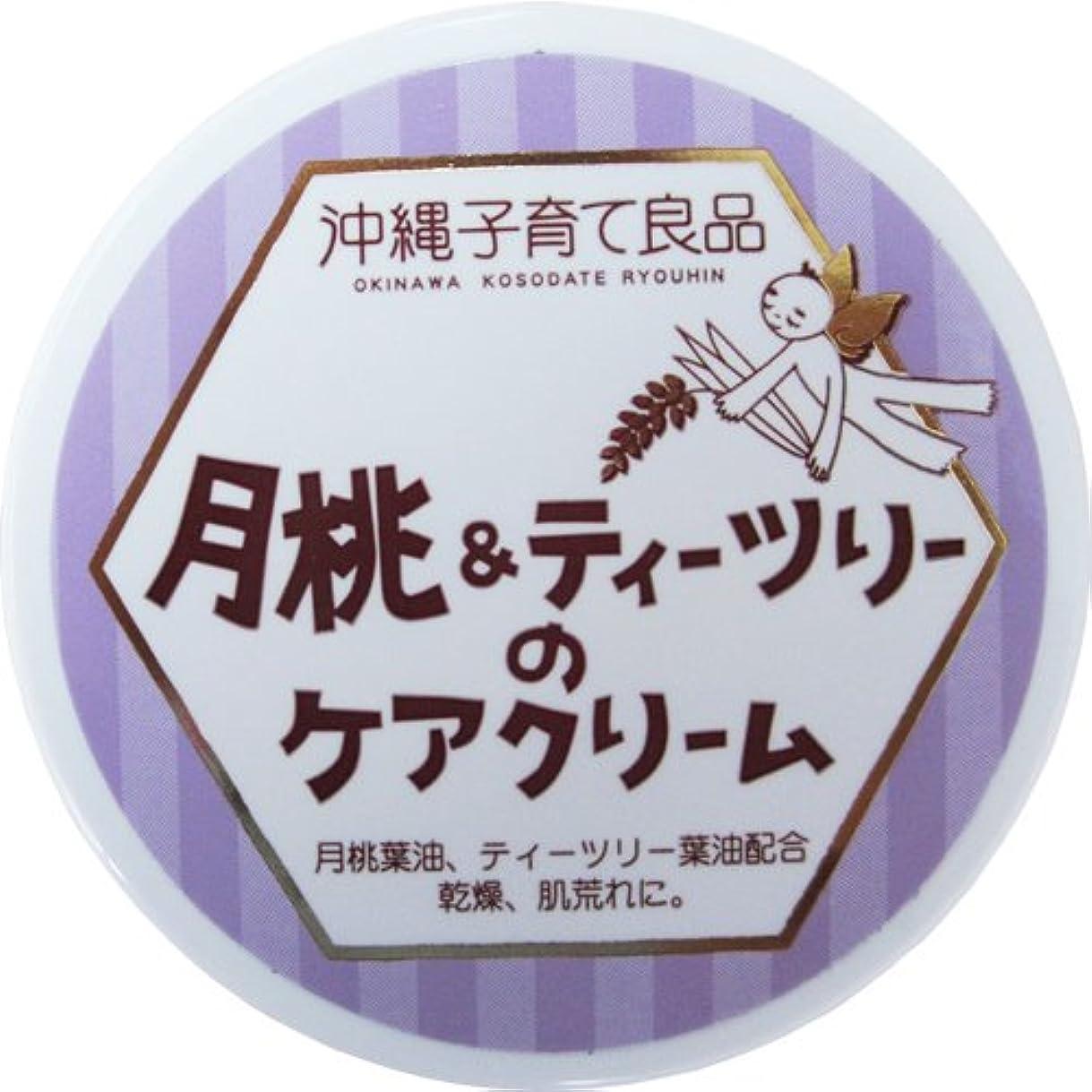 地域変化名誉沖縄子育て良品 月桃&ティツリーのケアクリーム (25g)