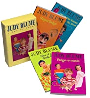 Judy Blume Boxed Set: Fudge-a-Mania; Otherwise Known as Sheila; Tales of a Fourth Grade Nothing; Superfudge