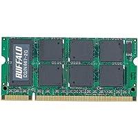BUFFALO DDR2 667MHz SDRAM(PC2-5300) 200pin SO-DIMM 2GB D2/N667-2G