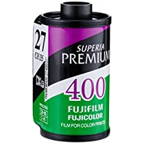 FUJIFILM カラーネガフイルム フジカラー PREMIUM 400 27枚撮り 3本パック 135 PREMIUM 400-R 27EX 3SB