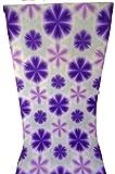 雪花絞り ゆかた 竹田嘉兵衛商店 折り板締絞り コーマ地 紫 高級 反物浴衣