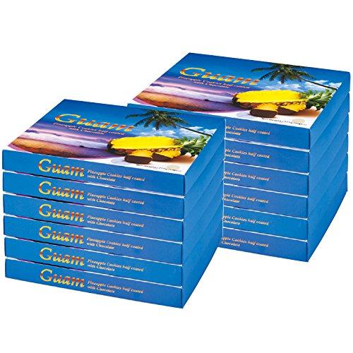 グアム 土産 グアム パイナップルチョコレートクッキー 12箱セット (海外旅行 グアム お土産)