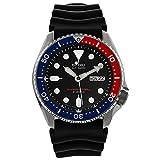 Seiko セイコー Divers 自動巻 オートマチック Black/Blue Dial Black Rubber Mens Watch SKX009J1 男性用 メンズ 腕時計 (並行輸入)