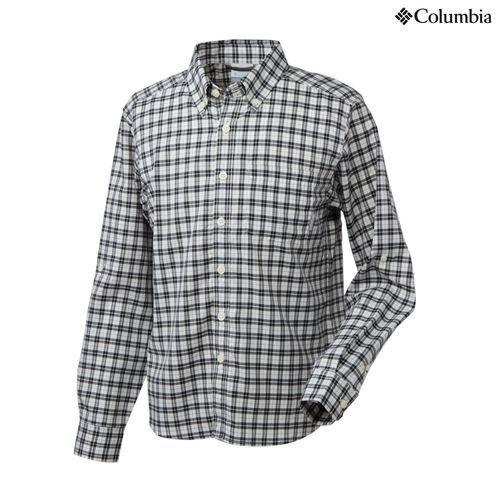 コロンビア バーティカルリリーフシャツ 039/ColumbiaGrey PM7971