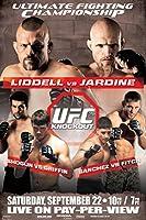 proframes UFC 76チャック・リデルvs Keith Jardineスポーツフレーム入りポスター12x 18 18x12 inches