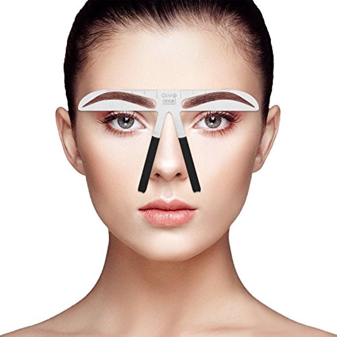 ELEVEN EVER眉毛ステンシルな化粧入れ墨の眉ツール(欧式)