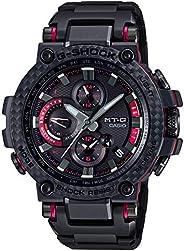 [カシオ] 腕時計 ジーショック MT-G Bluetooth 搭載 電波ソーラー カーボンベゼル MTG-B1000XBD-1AJF メンズ ブラック