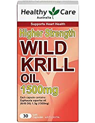 [Health Care]ワイルドオキアミオイル (30cap) Wild Krill Oil 1500mg [海外直送品]