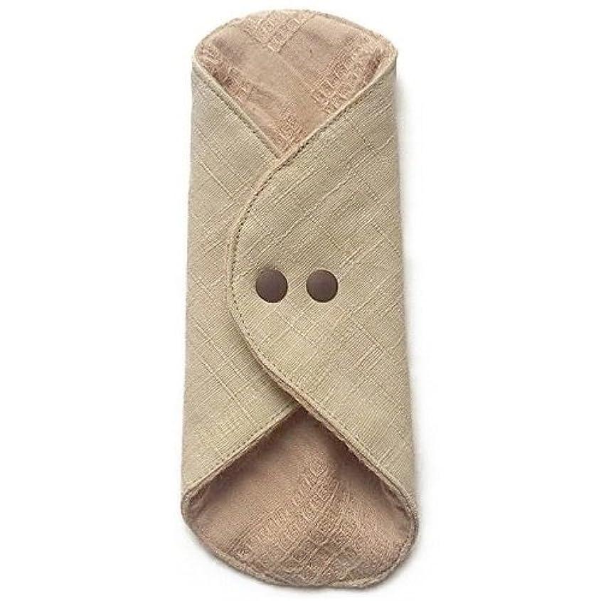 インシュレータ望み高原華布のオーガニックコットンのあたため布 Mサイズ(約15×約15cm) 彩り(百合)
