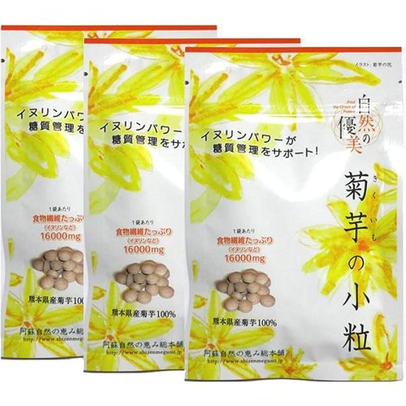 どうやって予測するホステス阿蘇自然の恵み総本舗 菊芋の小粒 100錠×3袋