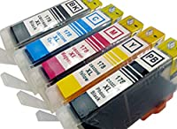 ヒューレットパッカードHP178用互換インクカートリッジ 5色セット+BK1個