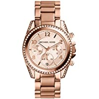 Michael Kors Watches Ladies Rose Gold Blair Watch