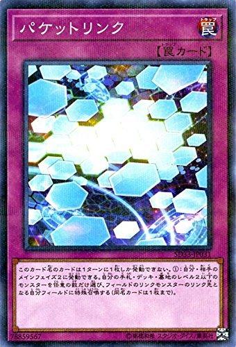 パケットリンク パラレル 遊戯王 パワーコード・リンク sd33-jp031
