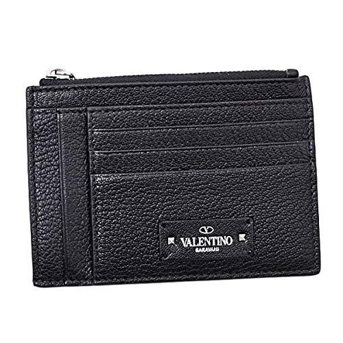 ヴァレンティノ ガラヴァーニ VALENTINO GARAVANI レザー カードケース コインケース ブラック [メンズ] RY2P0688HFY 0NO
