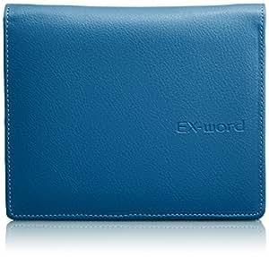 カシオ 電子辞書 エクスワード専用ケース フルカバータイプ XD-CC2002BE ブルー