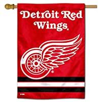 Detroit Red Wings Two Sided House Flag