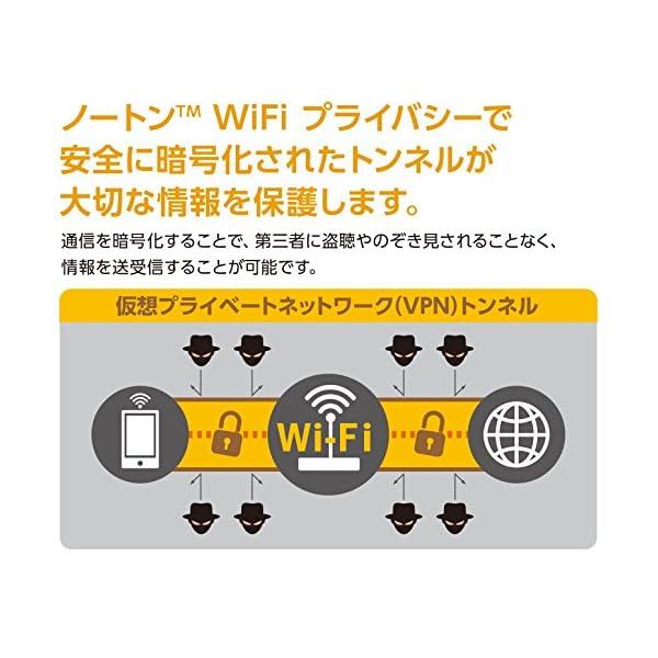 ノートンWiFiプライバシー (最新) |...の紹介画像4