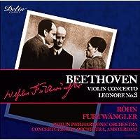 ベートーヴェン : ヴァイオリン協奏曲 ニ長調 作品61 /レオノーレ序曲第3番