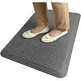 """HEALEG Anti Fatigue Mat Comfort Floor Mat Standing Desk Mat for Office and Home Kitchen Rugs (30""""x20""""x3/4"""", Grey)"""