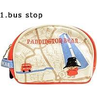 PH6020 [ Paddington Bear Bus stop / ???????????? バスストップ ] Shinzi Katoh Design Round pouch シンジカトウ ラウンドポーチ