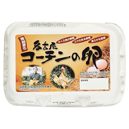 [冷蔵] 房総育ち名古屋コーチンの卵 6個