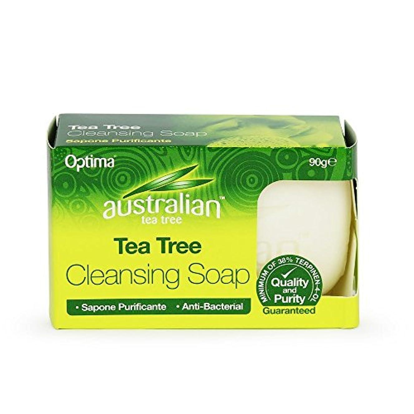 百科事典シャベル曲げるCleansing Soap (90g) - x 3 Pack Savers Deal by Australian Tea Tree
