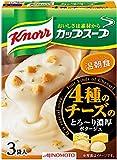 クノール カップスープ 4種のチーズのとろ~り濃厚ポタージュ 3袋入×4個