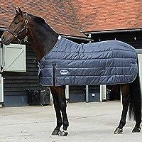 (ウェザビータ) Weatherbeeta 馬用 Comfitec ヘビー プレミア トリオ ラグ ライナー 馬着 乗馬 ホースライディング (5 フィート 9) (グレー)