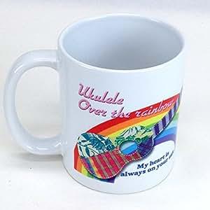 Jam's Ukulele オリジナルマグカップ(ウクレレ・オーバー・ザ・レインボー)