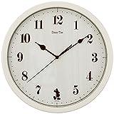 セイコー クロック 掛け時計 ミッキーマウス アナログ ミッキー&フレンズ Disney Time ディズニータイム アイボリー FW577A SEIKO