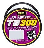 デュエル(DUEL) フロロカーボンライン トータルバランス TB300 300m 1.25号 ナチュラルクリア H3575