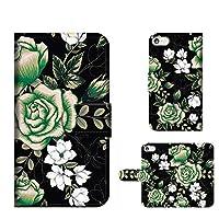 PU手帳型 AQUOS CRYSTAL 305SH 手帳カードタイプ ローズ ROSE 花柄 薔薇 フラワー スマホケース 携帯カバー スマホカバー techou-190336 [FFANY]