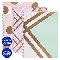 Shape It Up Wirebound Notebook 1-Subject/College Ruled