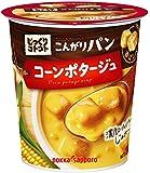 ポッカサッポロ じっくりコトコトスープ こんがりパンコーンポタージュ カップ×6個