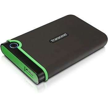 Transcend USB3.0/2.0 2.5インチ ポータブルHDD 耐衝撃 M3シリーズ 2TB 3年保証 TS2TSJ25M3
