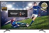 ハイセンス 55V型 フルハイビジョン 液晶テレビ 外付けHDD裏番組録画対応 メーカー3年保証 55K30 2018モデル