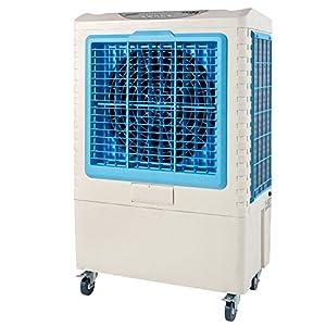 ナカトミ(NAKATOMI) 大型冷風扇 業務用冷風扇 CAF-40 タンク容量50L 幅68×奥行50×高さ109cm