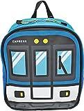 (ターンオーバー)TURN OVER キッズ トレイン リュック K-617 (BL:ブルー/電車)