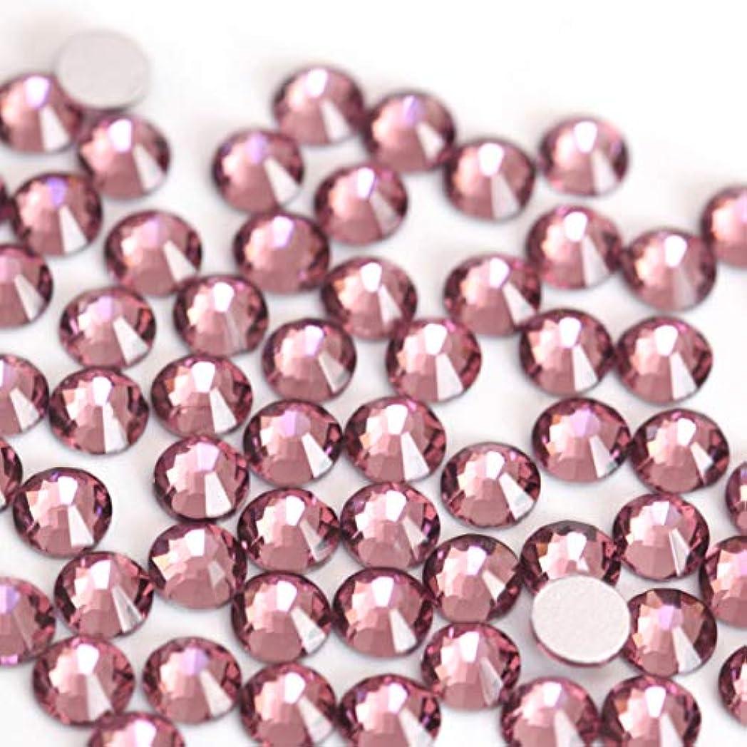 傷跡送る再集計【ラインストーン77】高品質ガラス製ラインストーン ライトアメジスト(6.3mm (SS30) 約45粒)