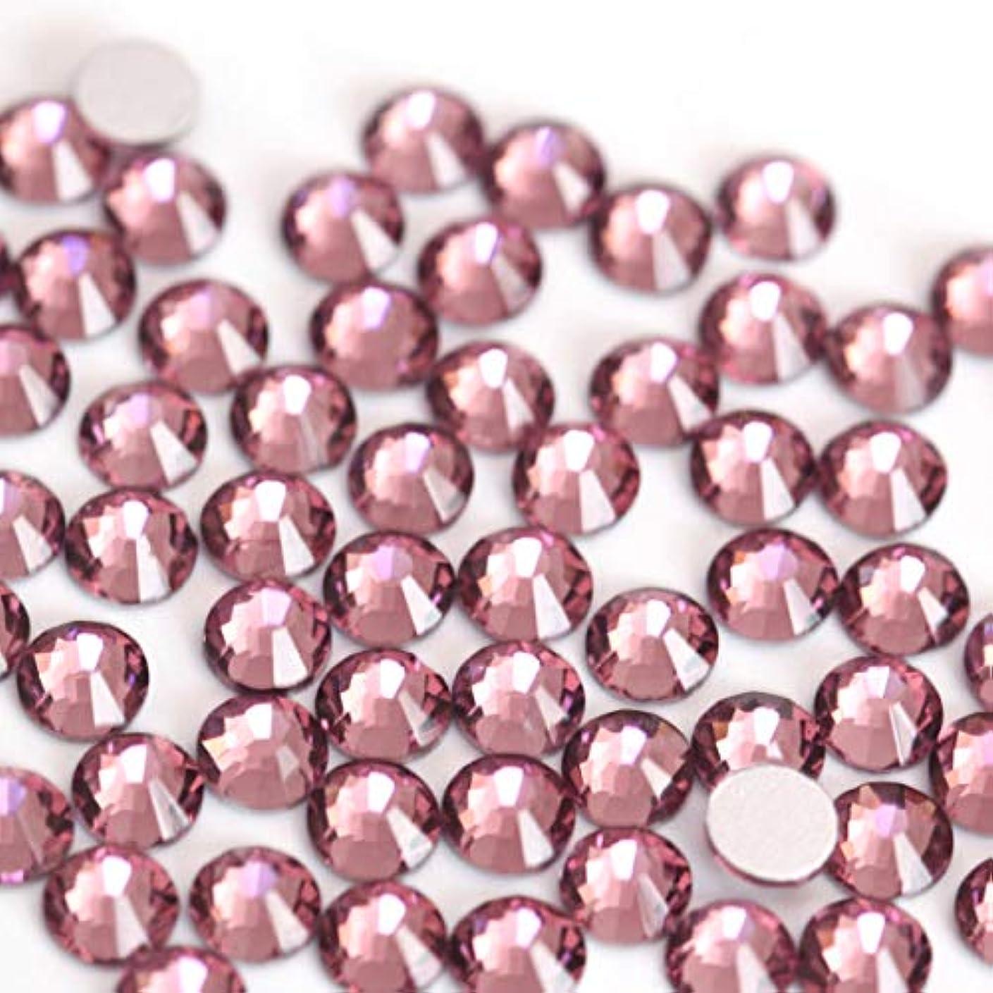 音節悪質なバンガロー【ラインストーン77】高品質ガラス製ラインストーン ライトアメジスト(1.9mm (SS6) 約200粒)