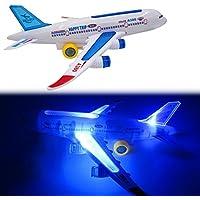 baynneマルチカラーフラッシュ平面航空機おもちゃサウンド音楽照明子供キッズおもちゃ