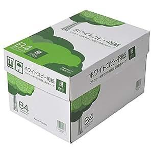 コピー用紙 高白色 B4 500枚x5冊/箱 ホワイトコピー用紙
