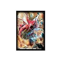 ポケモンカードゲームXY デッキシールド 赤い 色違い Mメガギャラドス 65枚入り 海外限定スリーブ [並行輸入品]