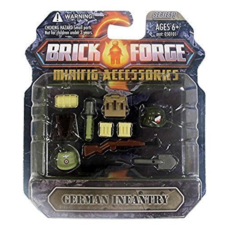 [ブリックフォージ]Brickforge 'German Infantry' Minifig Accessory Pack 061403 [並行輸入品]