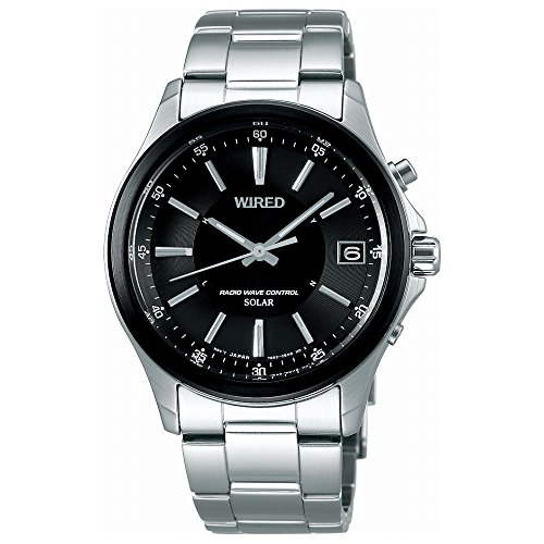 [ワイアード]WIRED 腕時計 WIRED ソーラー電波 シンプルデザイン AGAY012 メンズ