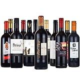 赤ワイン12本セット モン・ペラ 入り フランス スペイン 南アフリカ チリ 飲み比べ 750mlx12本